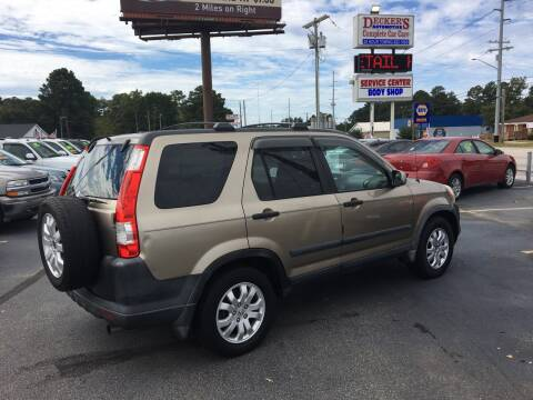 2005 Honda CR-V for sale at Deckers Auto Sales Inc in Fayetteville NC