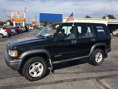 1995 Isuzu Trooper for sale at Deckers Auto Sales Inc in Fayetteville NC