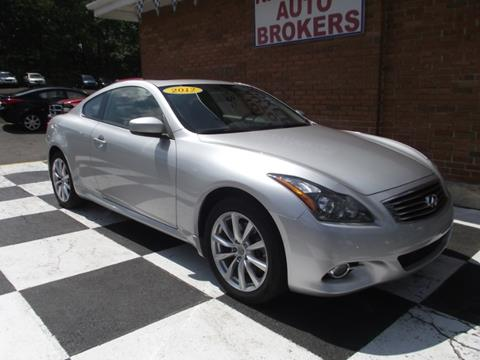 2012 Infiniti G37 Coupe for sale in Waterbury, CT