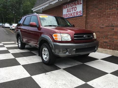 2004 Toyota Sequoia for sale in Waterbury, CT