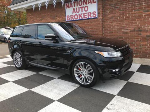 2016 Land Rover Range Rover Sport for sale in Waterbury, CT
