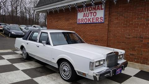 1988 Lincoln Town Car For Sale In Savannah Ga Carsforsale Com