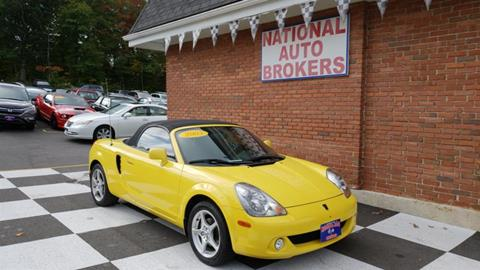 2003 Toyota MR2 Spyder For Sale In Waterbury, CT