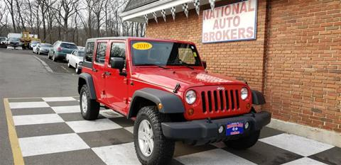 2010 Jeep Wrangler Unlimited for sale in Waterbury, CT