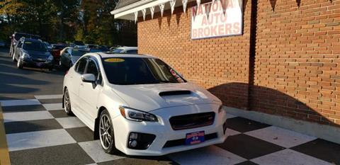 2016 Subaru WRX for sale in Waterbury, CT