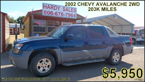 2002 Chevrolet Avalanche for sale in Fritch, TX
