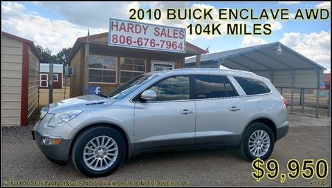 2010 Buick Enclave for sale in Fritch, TX