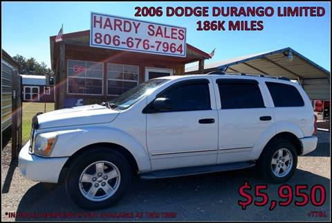 2006 Dodge Durango for sale in Fritch, TX