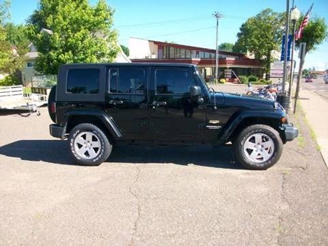 2010 Jeep Wrangler Unlimited for sale in Amery WI