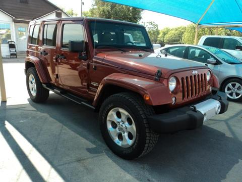 2014 Jeep Wrangler Unlimited for sale at Gold Star Motors Inc. in San Antonio TX