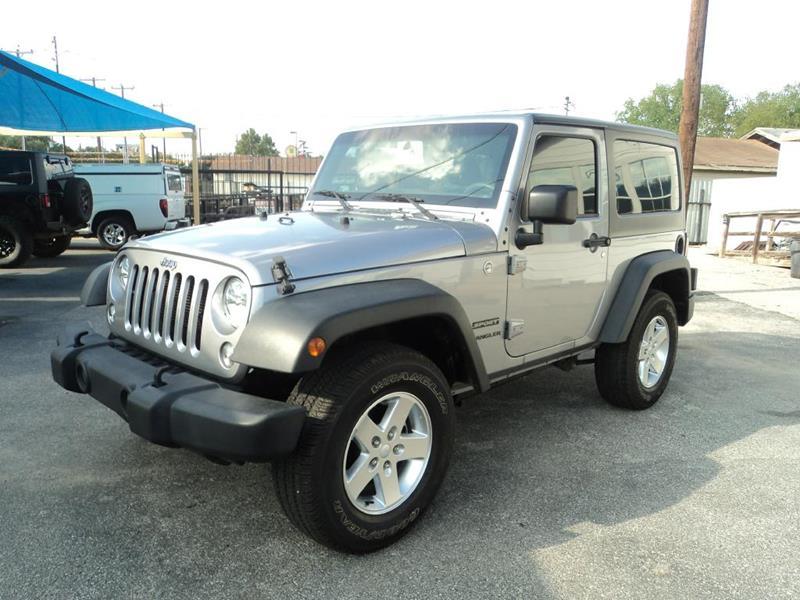 2015 Jeep Wrangler for sale at Gold Star Motors Inc. in San Antonio TX