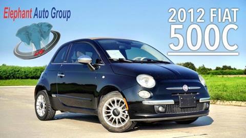 2012 FIAT 500c for sale in Rosenberg, TX