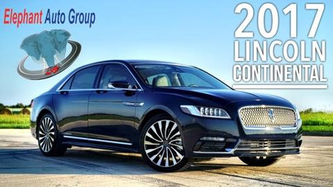 2017 Lincoln Continental for sale in Rosenberg, TX