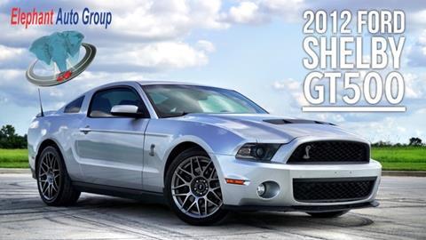 2012 Ford Shelby GT500 for sale in Rosenberg, TX