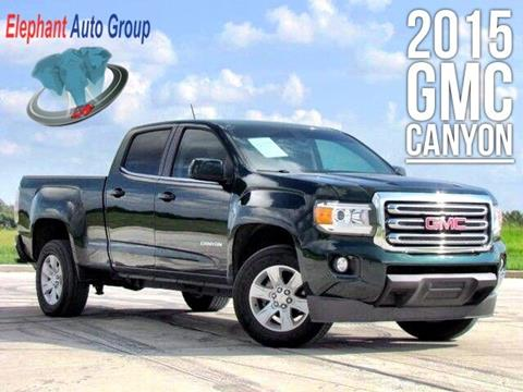 2015 GMC Canyon for sale in Rosenberg, TX