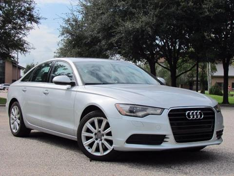 2014 Audi A6 for sale in Rosenberg, TX