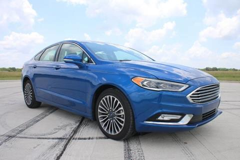 2017 Ford Fusion for sale in Rosenberg, TX