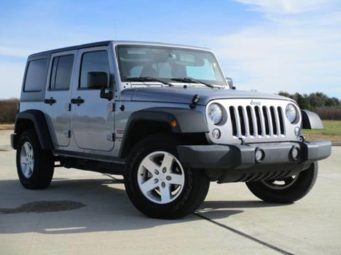 2016 jeep wrangler for sale in rosenberg tx. Black Bedroom Furniture Sets. Home Design Ideas