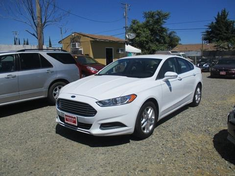 2013 Ford Fusion for sale in Modesto, CA