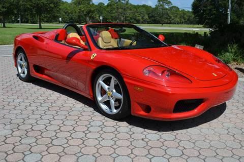 2003 Ferrari 360 Spider for sale in Sarasota, FL