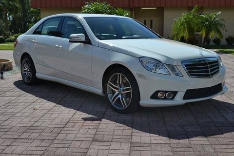 2010 Mercedes-Benz E-Class for sale in Sarasota, FL