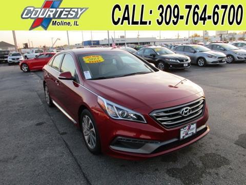 2015 Hyundai Sonata for sale in Moline, IL