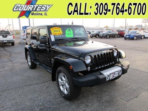 2014 Jeep Wrangler Unlimited for sale in Moline, IL