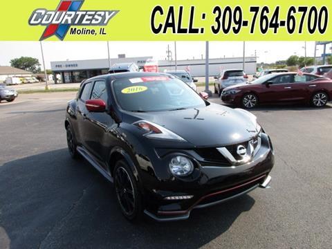 2016 Nissan JUKE for sale in Moline, IL