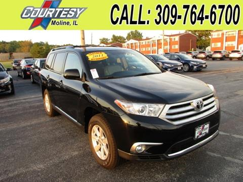 2011 Toyota Highlander for sale in Moline, IL