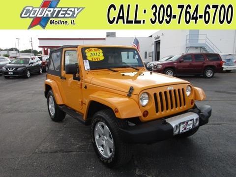 2012 Jeep Wrangler for sale in Moline, IL