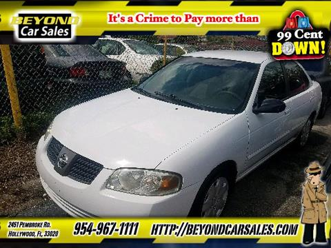 2004 Nissan Sentra for sale in Hollywood, FL