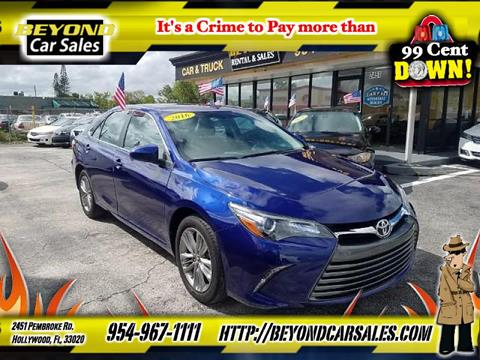 2016 Toyota Camry for sale in Hollywood, FL