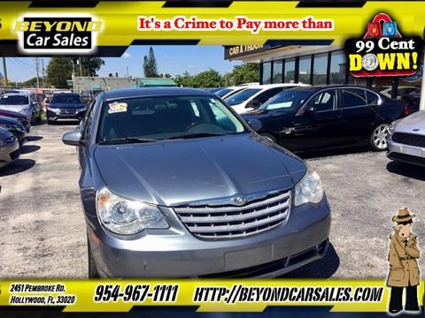 2010 Chrysler Sebring for sale in Hollywood, FL
