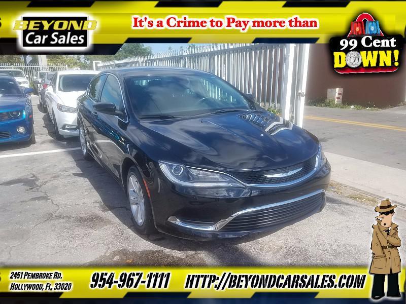 2015 Chrysler 200 Limited In Hollywood Fl Beyond Car Sales