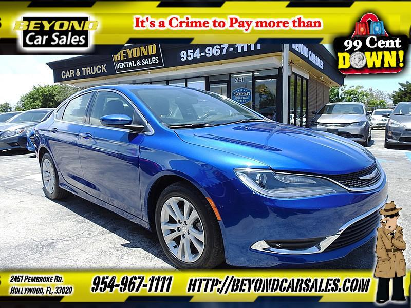 2015 Chrysler 200 For Sale >> 2015 Chrysler 200 Limited In Hollywood Fl Beyond Car Sales