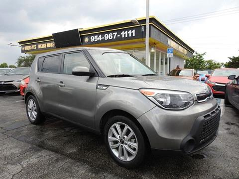 2018 Kia Soul for sale in Hollywood, FL