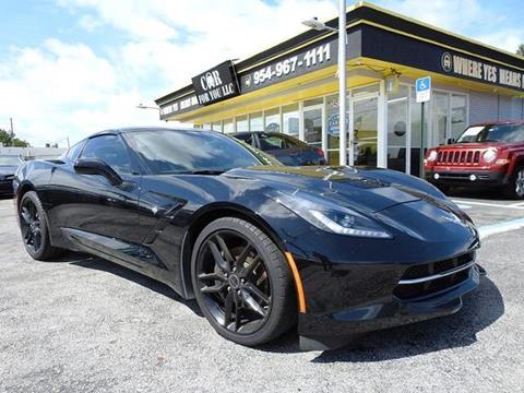 2014 Chevrolet Corvette for sale in Hollywood, FL
