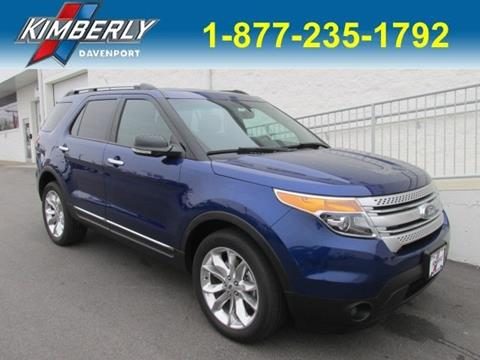 2015 Ford Explorer for sale in Davenport, IA