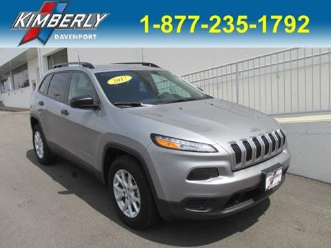 2017 Jeep Cherokee for sale in Davenport, IA
