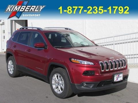 2017 Jeep Cherokee for sale in Davenport, IA