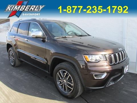2017 Jeep Grand Cherokee for sale in Davenport, IA