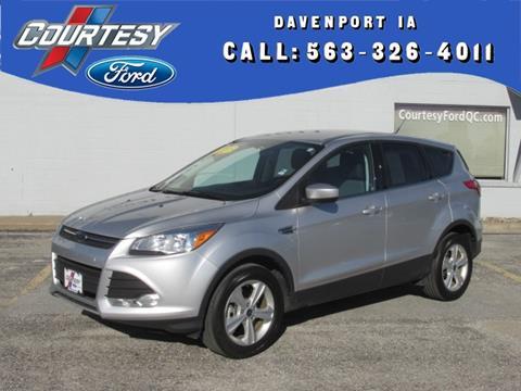 2015 Ford Escape for sale in Davenport, IA