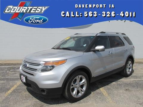 2012 Ford Explorer for sale in Davenport, IA