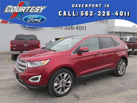 2015 Ford Edge for sale in Davenport, IA