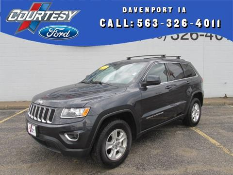 2015 Jeep Grand Cherokee for sale in Davenport, IA