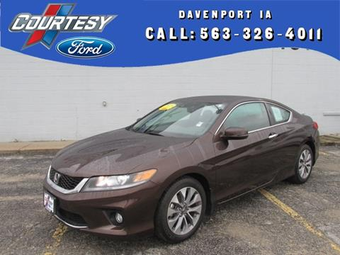 2015 Honda Accord for sale in Davenport IA
