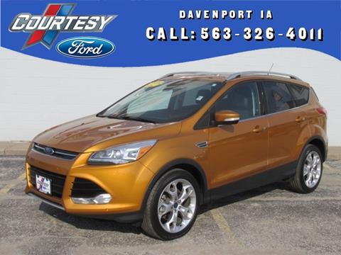 2016 Ford Escape for sale in Davenport, IA