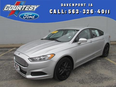 2014 Ford Fusion for sale in Davenport IA