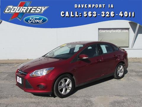 2013 Ford Focus for sale in Davenport, IA