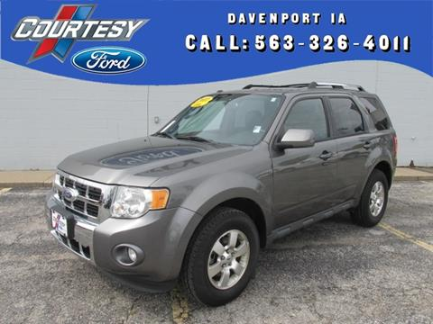 2011 Ford Escape for sale in Davenport IA